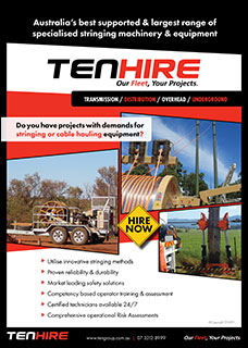 TEN Hire Brochure Image