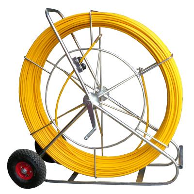 Ten Group Duct Snake Rodder Vertical Frame Yellow