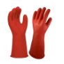 E014R-11 - Gloves, rubber, red, 350mm,