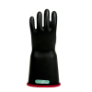 E316BCRB-11 - Gloves, rubber, red black,