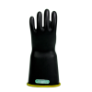 E316BCYB-10H - Gloves, rubber, yellow black,