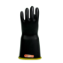 E418BCYB-10 - Gloves, rubber, yellow black,