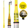 MV-40 - Stick, telescopic, triangular,