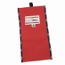TENM445 - Bag, detector, canvas, red,