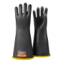 NG416YB-10H - Gloves, rubber, yellow/black,