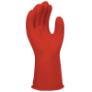 E0011R-8 - Gloves, rubber, red, 280mm,