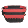 TENM206 - Bucket, tool, canvas, red,