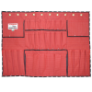 TENM443 - Apron, bucket, canvas, red,